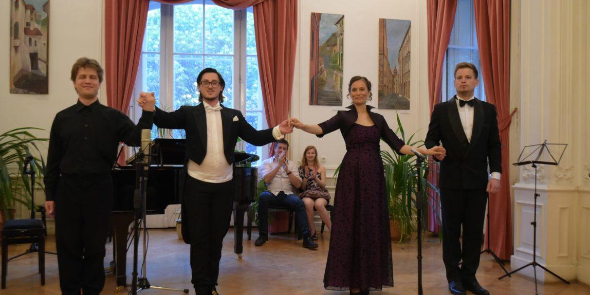 Opera Singer Quartet tavaszi koncertje